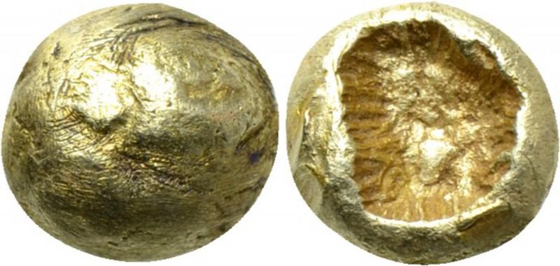 Asia Menor. Ceca incierta. electro 1/24 de estatera (600-550 a.C.). 244