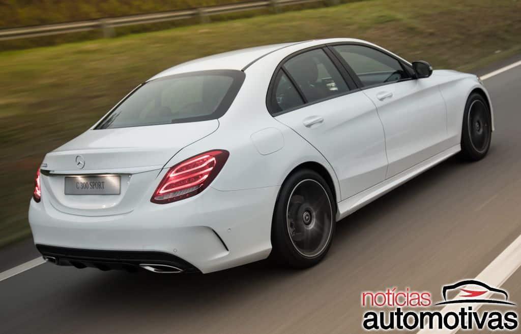 Classe C 300 Sport estreia como versão topo de linha por R$ 241,9 mil Mercedes-benz-c-300-sport-2018-1