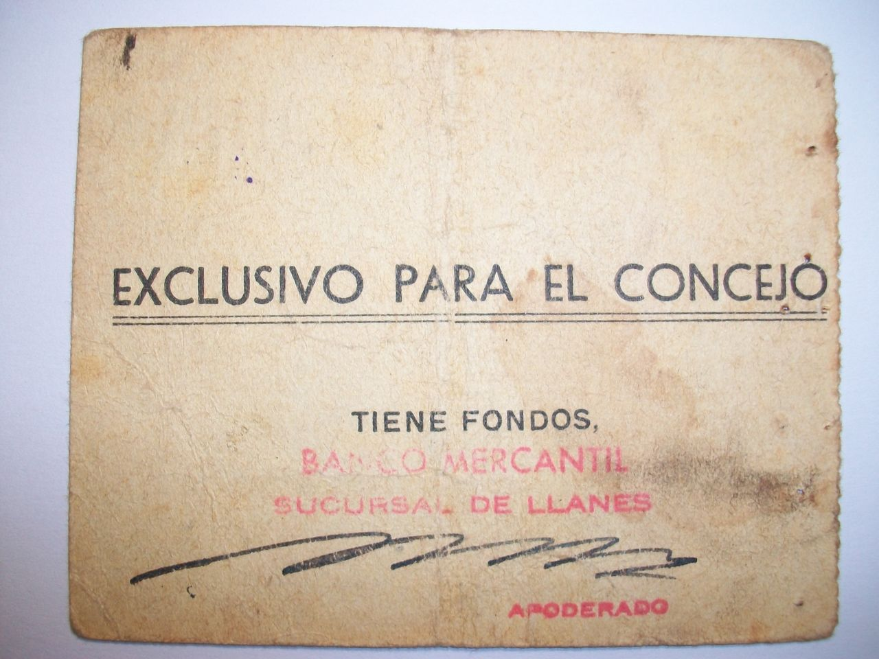 50 Céntimos Ayuntamiento de LLanes, 1937 100_1774