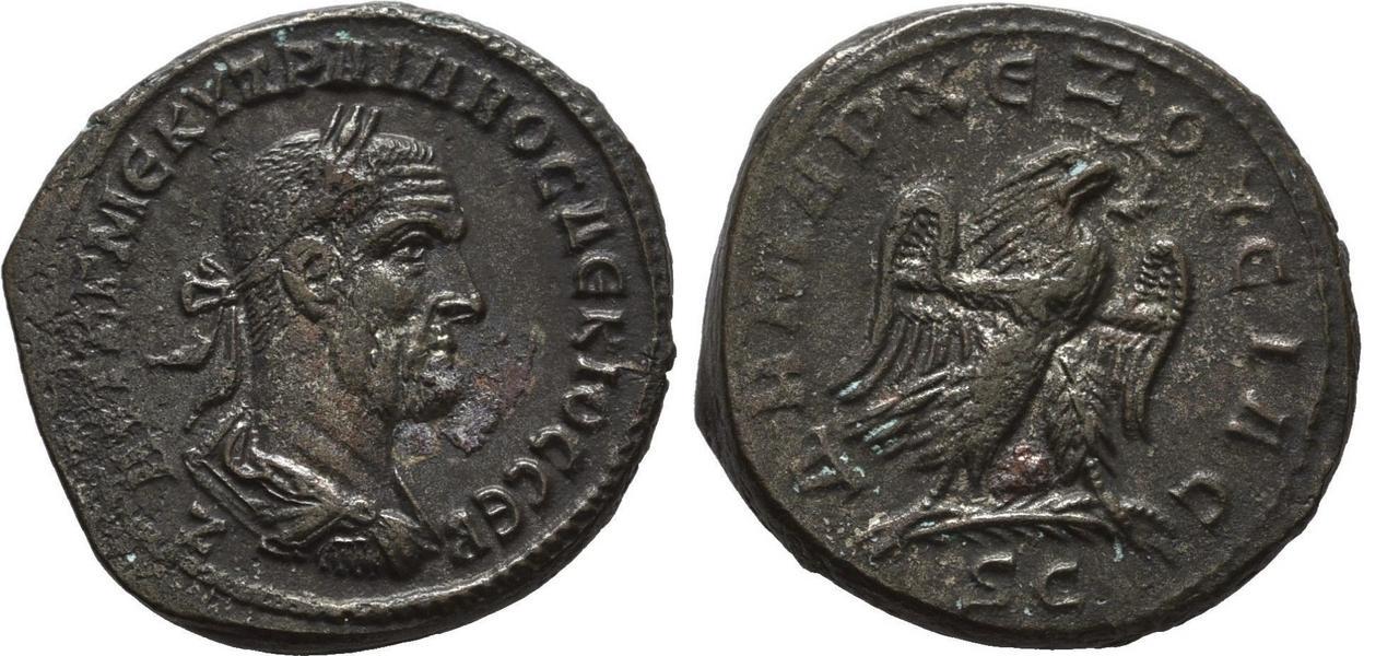 Tetradracma de Trajano Decio. Decio_antioquia