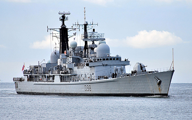 Japon establece como estrategia similar a China, limitar acceso a zonas aereas/maritimas territoriales HMS_DESTROYER_YORK_TYPE_42