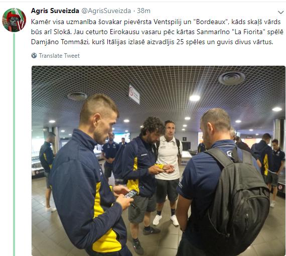 Europa League 2018/19 Spartaks