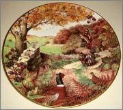 Peter Barrett | Времена года и животный мир - Живопись на фарфоре 886647_580459985311108_1828528317_o