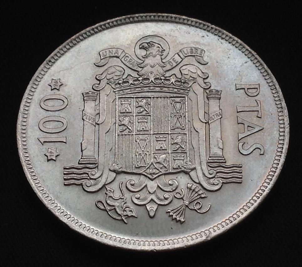 100 pesetas 1975 *76 Juan Carlos I Image