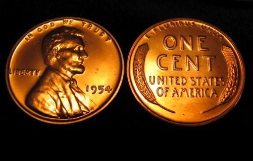 Coleccion Centavos Lincoln 1909-2016 - Página 2 1954