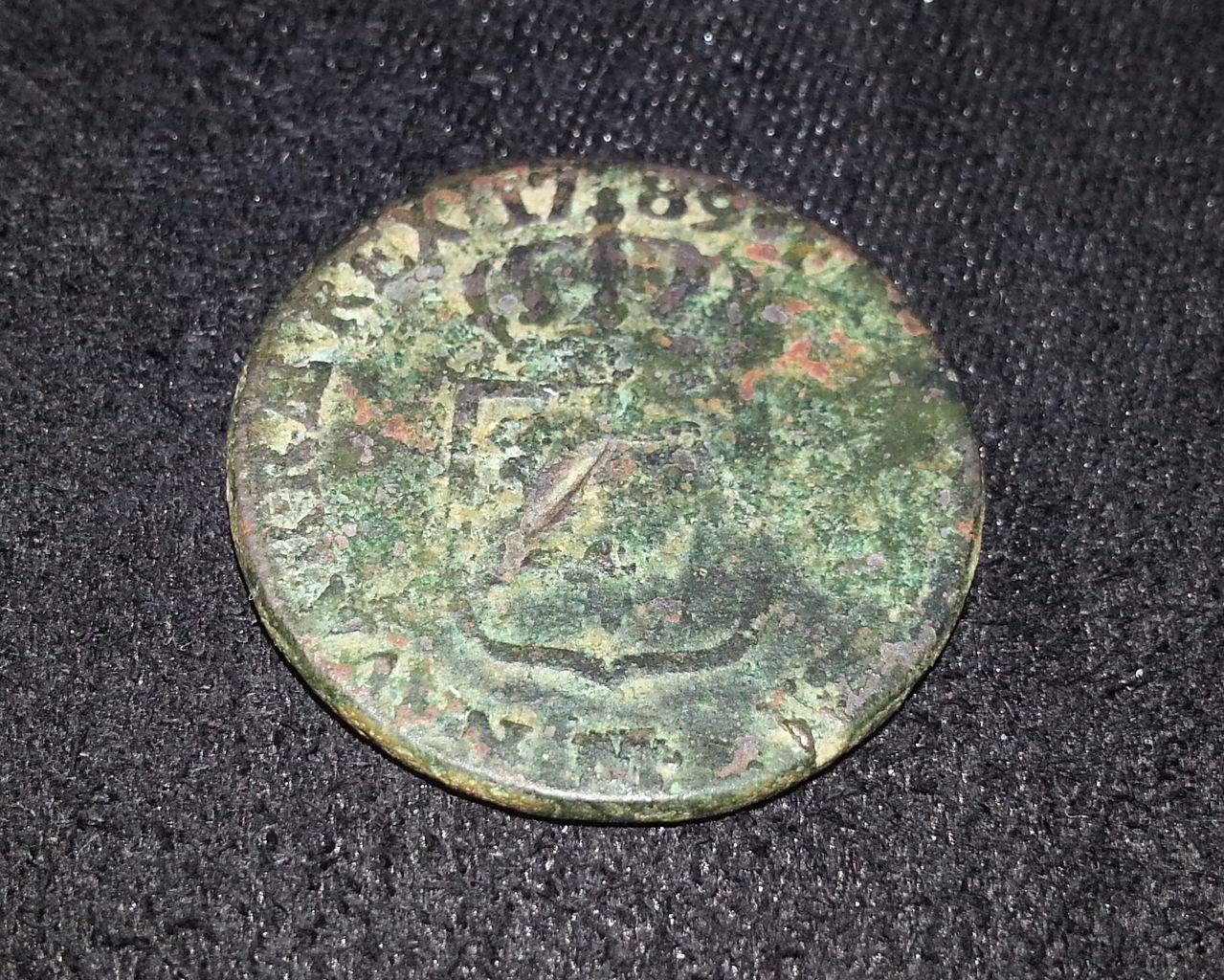 1 Sol de Luis XVI. 1789. Toulouse 20131005_020557