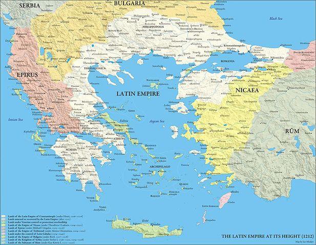 El Imperio Latino de Constantinopla. 0_0_mapa_imperio_latino_de_Constantinopla
