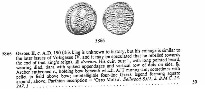 Dracma de Osroes II. Ecbatana (190 d.C.) Sin_t_tulo