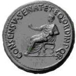 Glosario de monedas romanas. EQVESTER (Orden). Image