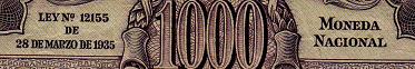 Antiguos Pesos de la Republica Argentina Leyes 12962 (Moneda Nacional) Leyenda1