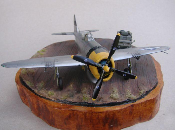 P-47D-30RE Thunderbolt, Revell, 1/72 DSC03171