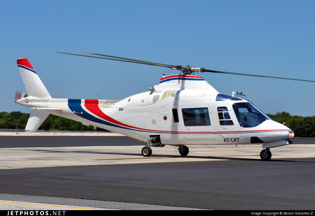 aeronaves - Aeronaves  Matriculas  XC-  ( Por Estados) Campeche_Agusta_A109_A_Hirundo_XC_LKT_2009