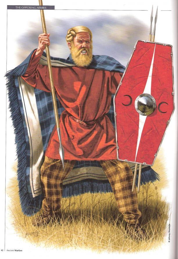 Les germains historiques, aide à l'image et à la conversion Germanic_warrior_1