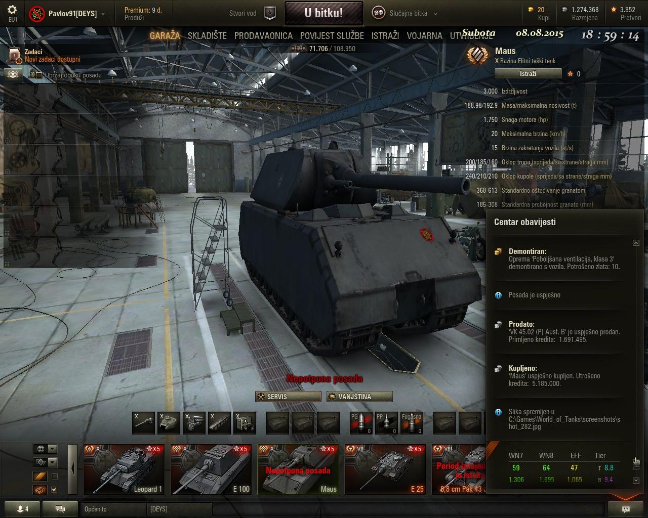 Pavlov91 - mighty MAUS Shot_283