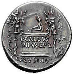 Glosario de monedas romanas. EPULONES. Image