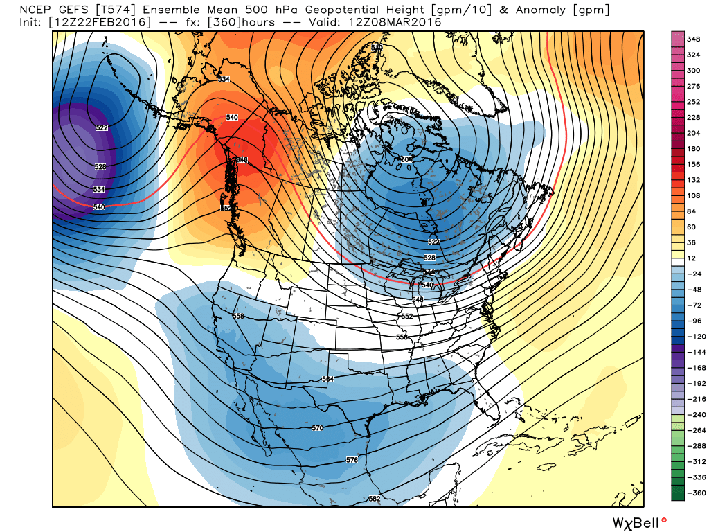 02/22/16 Mo Mo: Figuring Out What's Left Of Winter Gefs_z500a_noram_61