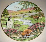 Peter Barrett | Времена года и животный мир - Живопись на фарфоре 887242_580460008644439_454733807_o