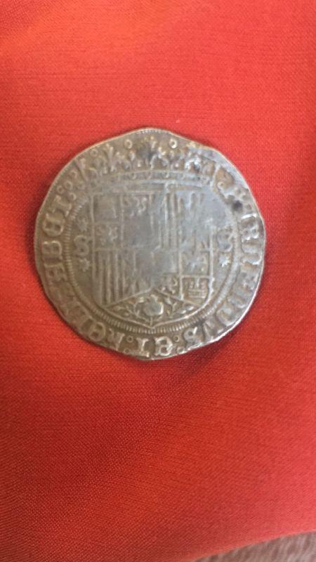 1 real de los reyes católicos,ceca de Sevilla. IMG-20170330-_WA0003