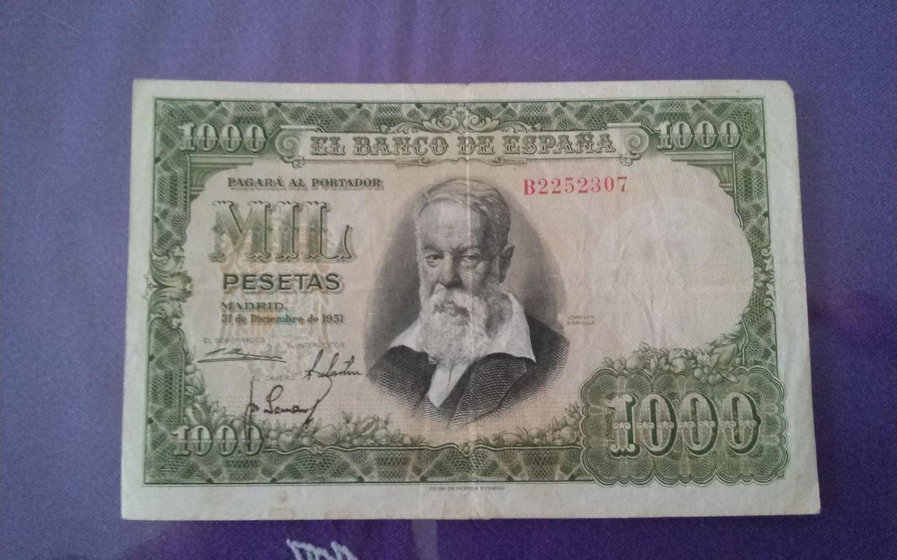 1000 pesetas de 1951 1411057646376