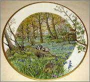 Peter Barrett | Времена года и животный мир - Живопись на фарфоре 883616_580459818644458_1646076800_o