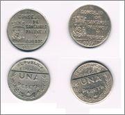 Posible moneda falta de 1 Peseta 1937 Consejo Santander Palencia y Burgos 1_PTS_SANTANDER