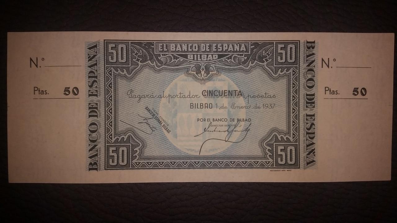 Colección de billetes españoles, sin serie o serie A de Sefcor pendientes de graduar - Página 2 20170217_203826