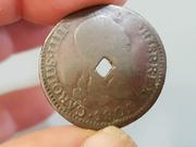 4 Maravedis Carlos IV de Segovia, 1801 con Resello?? 20180623_120425