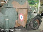 "Французский бронеавтомобиль ""Panhard"" AMD 178,  Musee des Blindes, Saumur, France Panhard_Saumur_039"