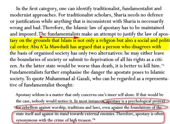 Réflexions sur Apostasie en Islam Image