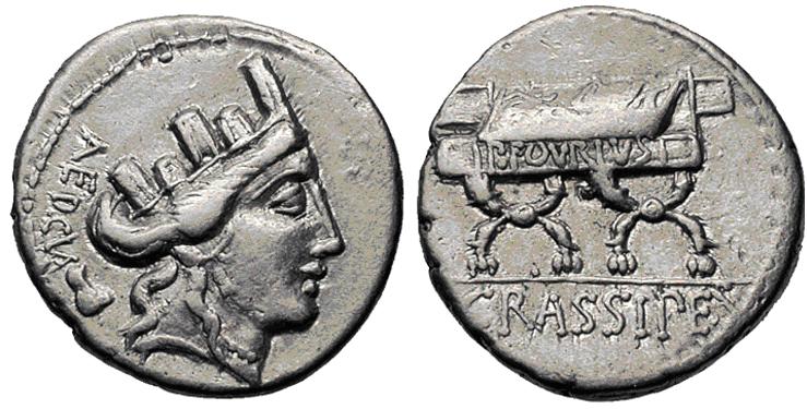 Glosario de monedas romanas. EDILES. Image