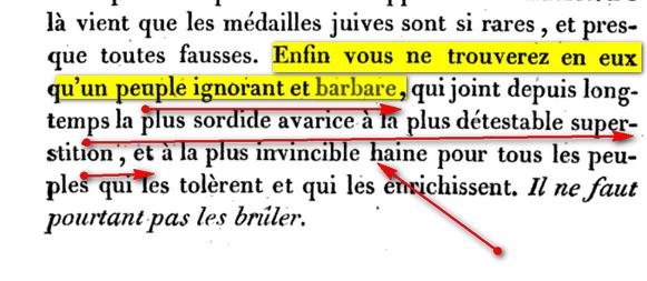 le Salut vient des Juifs: Mythe du Peuple Elu Voltaire