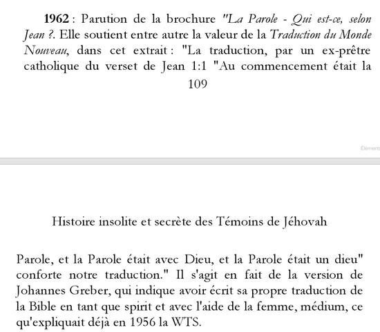 Les Absurdités du christianisme des Témoins de jéhovah 109c