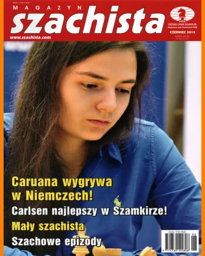 CHESS PERIODICALS :: Magazyn SZACHISTA (Polish Chess Monthly Magazine) Ms_2018-06