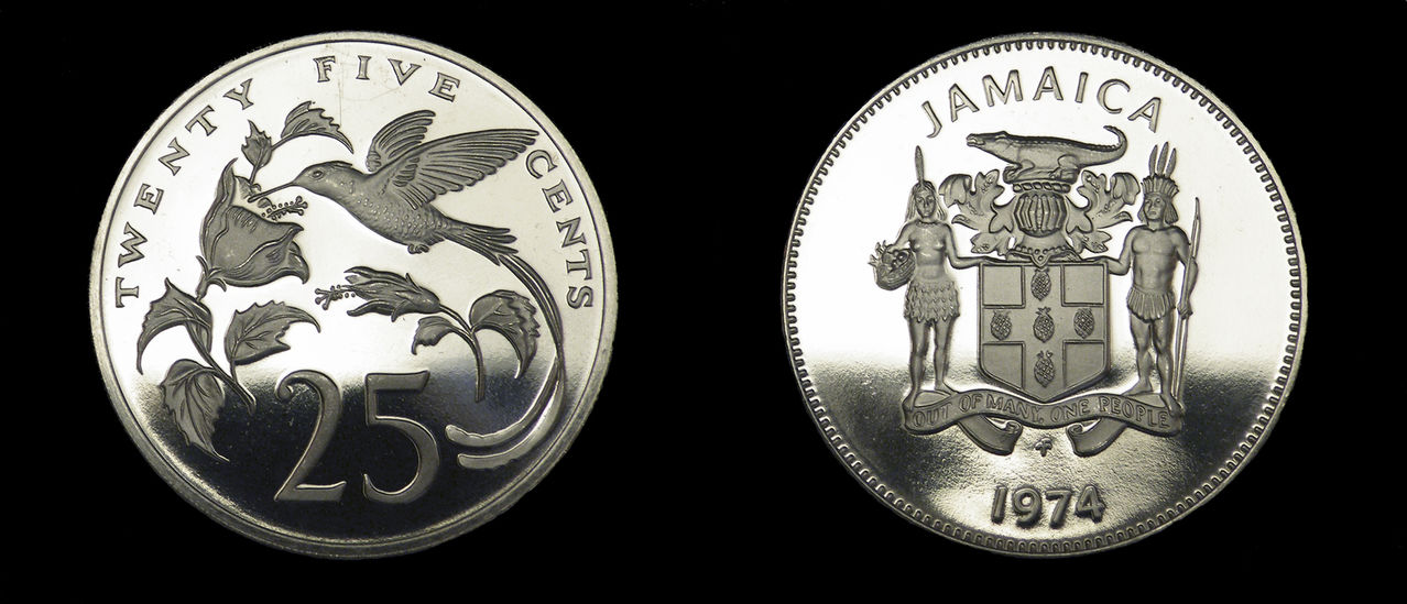25 cents Jamaica 1974  PROOF 25_cents_jamaica