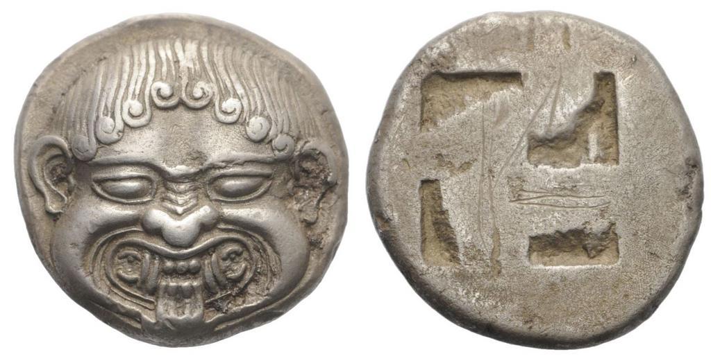 Estatera de Neapolis Gorgon