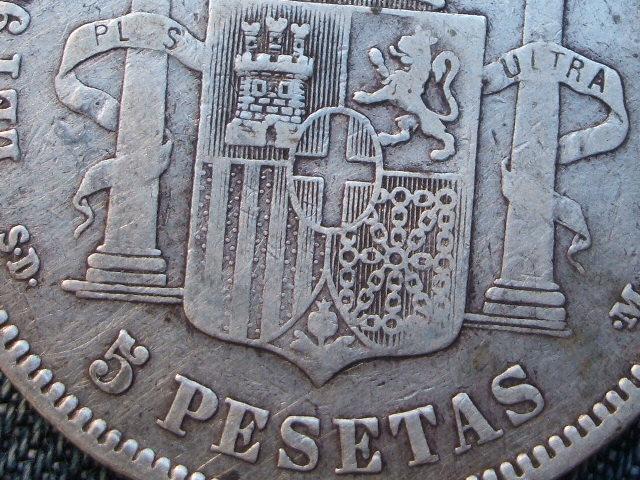 5 pesetas 1871. Amadeo I - A VER SI TENGO SUERTE CON ESTA  013