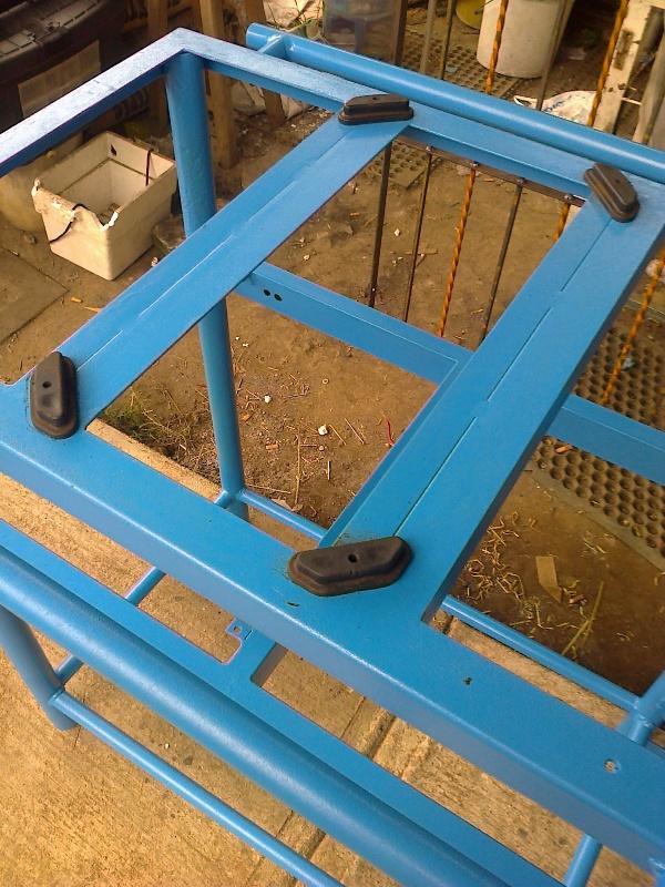 Mesa móvil para corte con tronzadora 2qu3fia