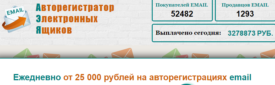 Отзывы Mail Registration зарабатывай от 25 000 рублей Отзывы 4X9Rf