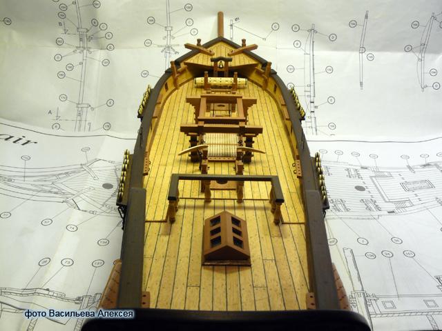 """Собирательный образ пиратского корабля """"CORSAIR"""" масштаб 1:80 фирмы OCCRE Atk7L"""