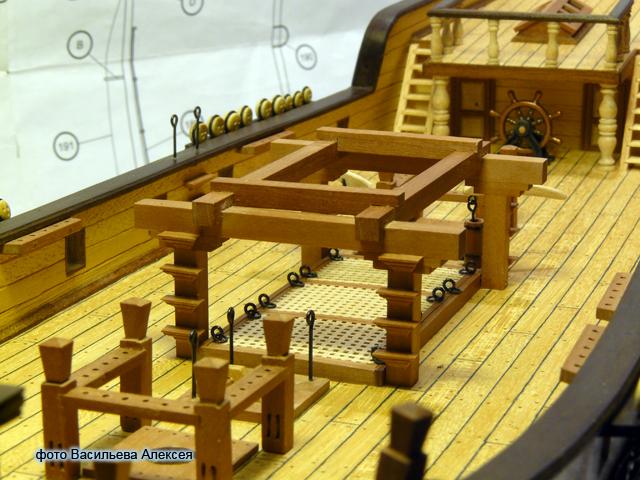 """Собирательный образ пиратского корабля """"CORSAIR"""" масштаб 1:80 фирмы OCCRE C276O"""