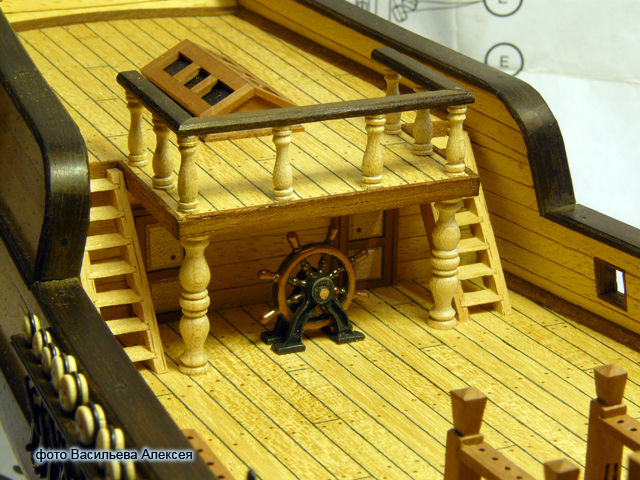 """Собирательный образ пиратского корабля """"CORSAIR"""" масштаб 1:80 фирмы OCCRE Gd7zM"""
