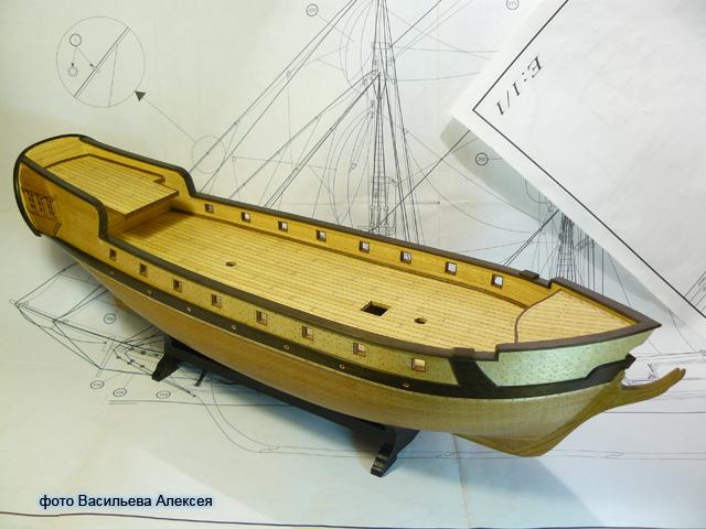 """Собирательный образ пиратского корабля """"CORSAIR"""" масштаб 1:80 фирмы OCCRE K4Q2X"""