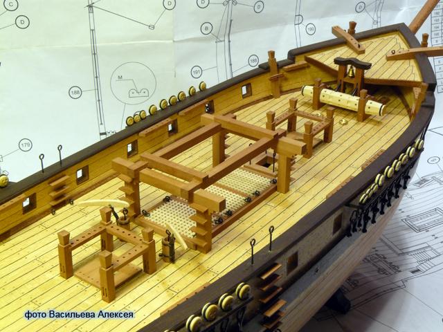"""Собирательный образ пиратского корабля """"CORSAIR"""" масштаб 1:80 фирмы OCCRE K5sRO"""