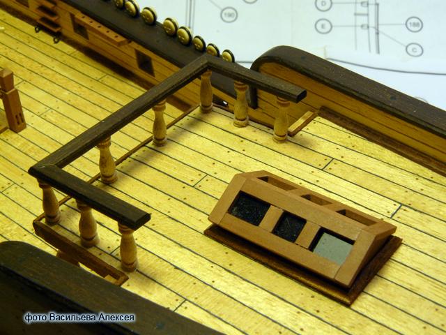 """Собирательный образ пиратского корабля """"CORSAIR"""" масштаб 1:80 фирмы OCCRE Xzcgh"""