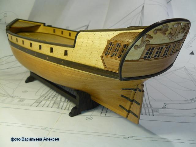 """Собирательный образ пиратского корабля """"CORSAIR"""" масштаб 1:80 фирмы OCCRE BVGdB"""