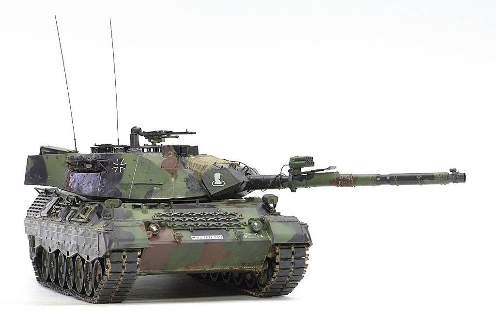 Leopard 1A5 Meng 1/35 BgIsC