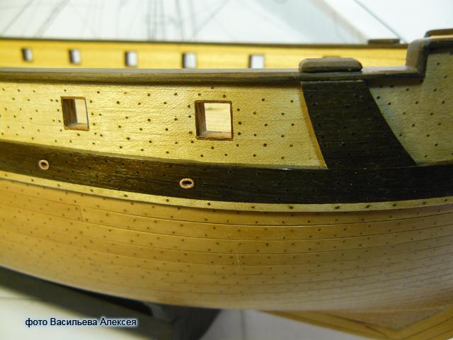 """Собирательный образ пиратского корабля """"CORSAIR"""" масштаб 1:80 фирмы OCCRE PdyUK"""