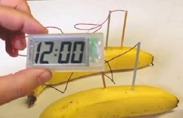 Супер!!!!! Часы работают от обычной картошки  6s2CL
