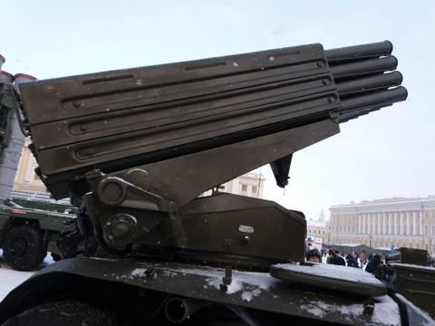 9К51 «Град» - 122-мм реактивная система залпового огня NIBkd