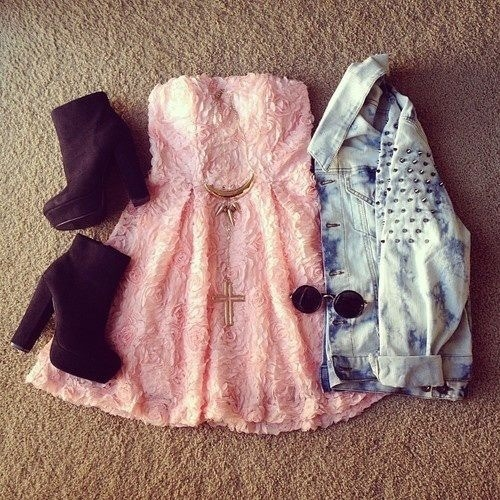 Cute Dress Fashion - صفحة 2 Boots-cute-dress-fashion-Favim.com-877583